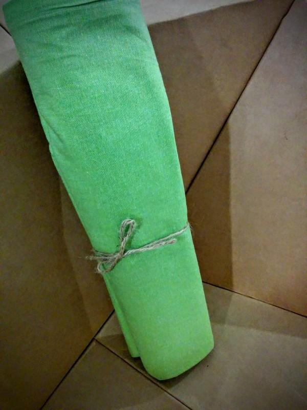 Tovaglia tinta unita verde
